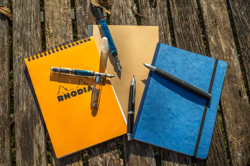 Notebooks and Fountain Pens